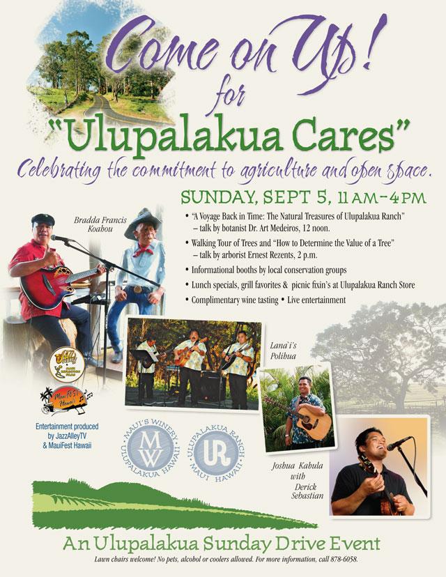 Sunday Drive to Ulupalakua
