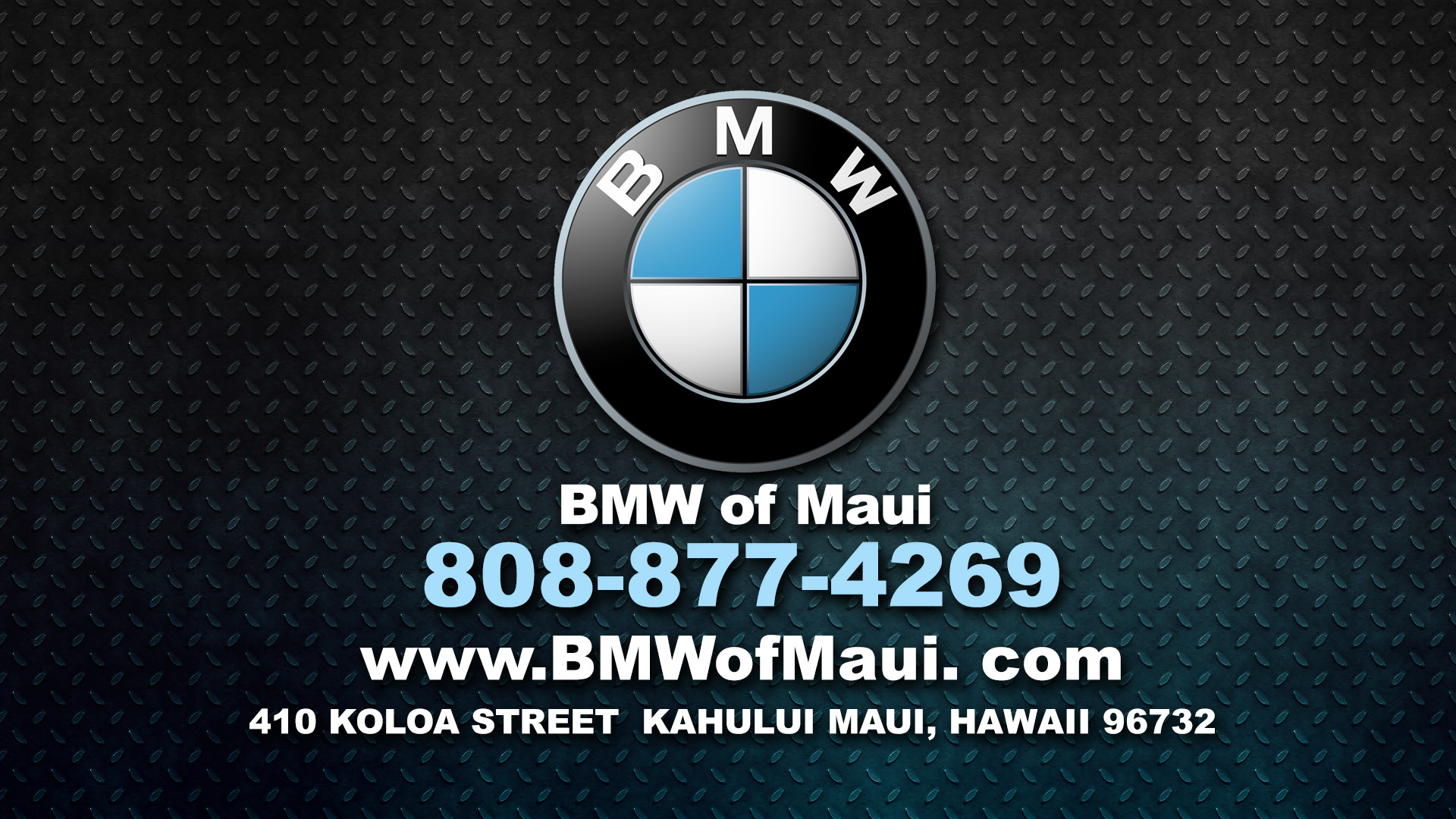 BMW of Maui 2016