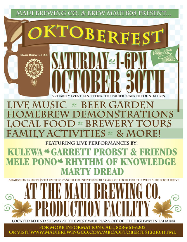Oktoberfest 2010 - Maui Brewing Co.