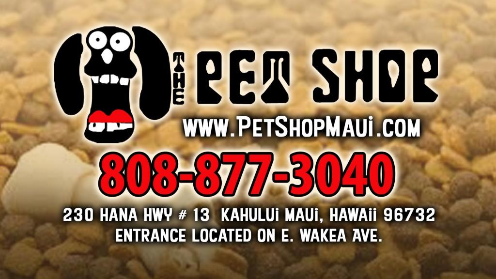 pet shop maui 2016