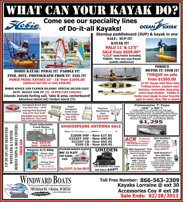 Windward Boats - Oahu
