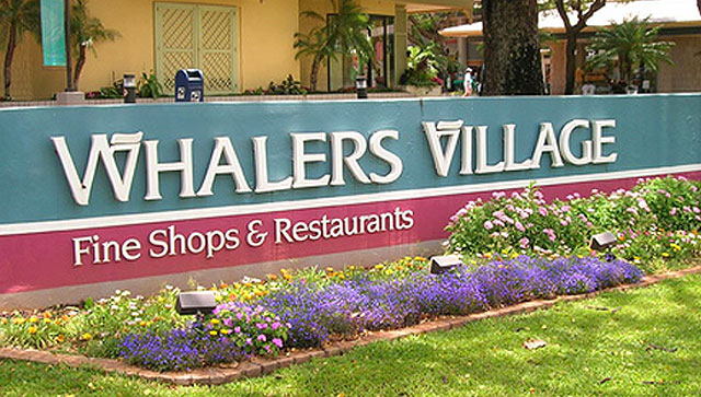 Whalers Village - Kaanapali Maui Hawaii
