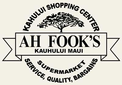 Ah Fook's Supermarket - Maui Hawaii