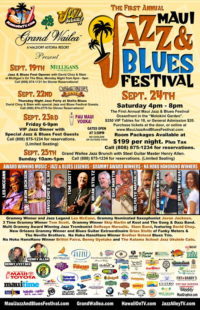 Maui Jazz and Blues Festival