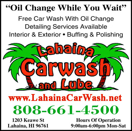 lahaina car wash and lube