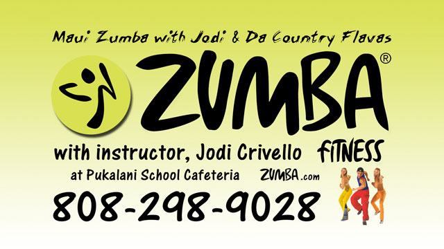 Zumba in Makawao Maui Hawaii
