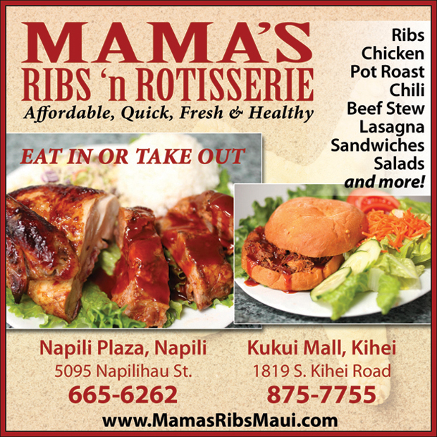 Mamas Ribs Maui Hawaii