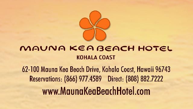 Mauna Kea Beach Hotel Hawaii