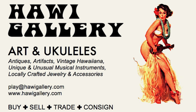 Hawi Galler - Art and Ukuleles