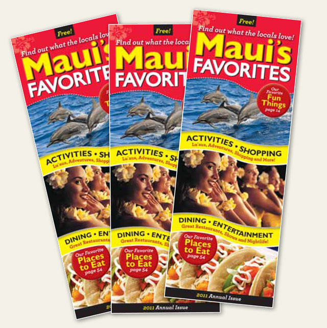 Maui's Favorites Magazine