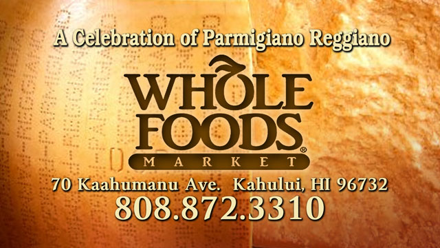 Whole Foods Maui Cheese Celebration