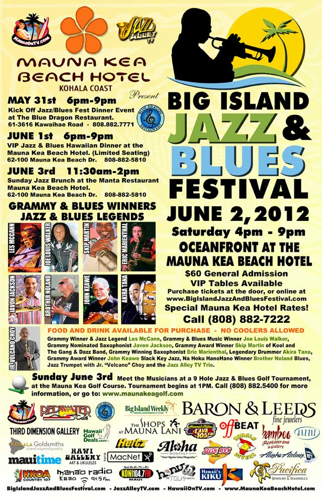 Big Island Jazz and Blues Festival 2012