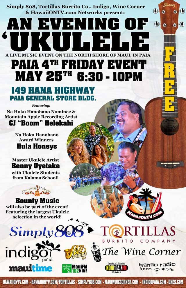 Paia 4th Fridays - Paia Maui Hawaii