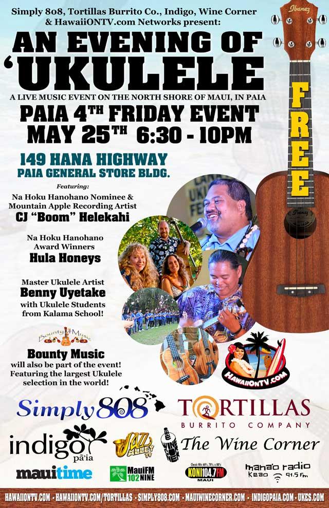 Paia 4th Fridays - Paia Maui Hawaii