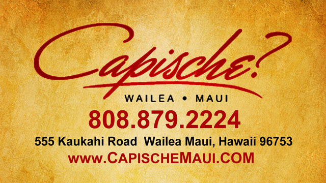 Capische - Maui Hawaii