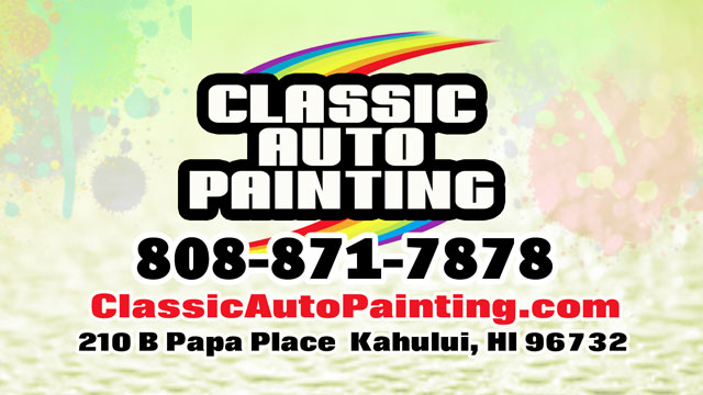 Classic Auto Painting - Maui Hawaii