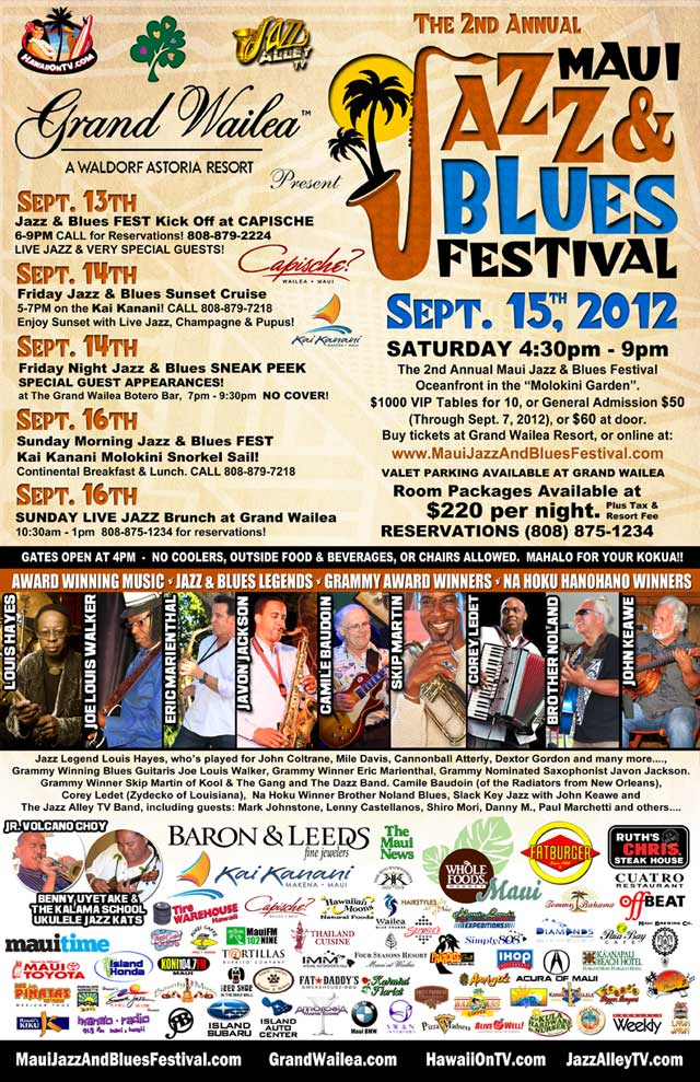 Maui Jazz and Blues Festival 2012