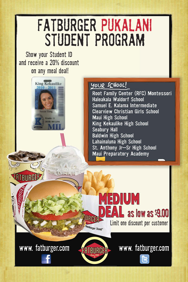 fatburger student program
