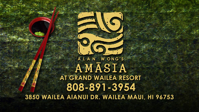 Alan Wong's Amasia Restaurant at Grand Wailea Resort