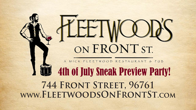 Fleetwood's on Front Street - Lahaina Maui Hawaii