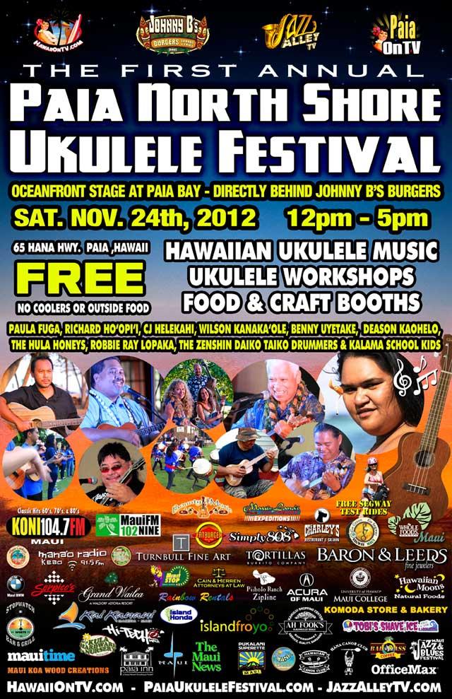 Paia Ukulele Festival 2012