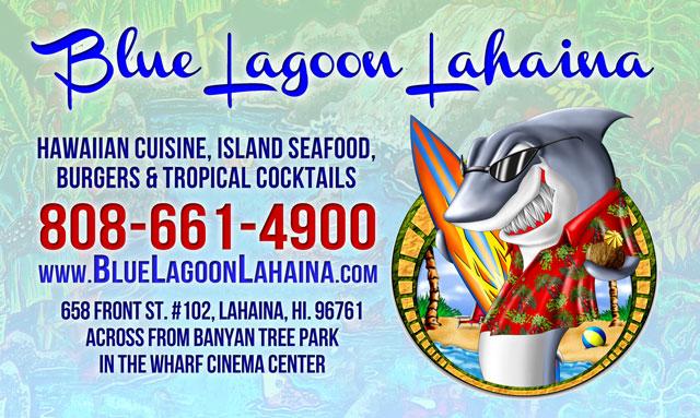 Blue Lagoon Restaurant - Lahaina Maui Hawaii