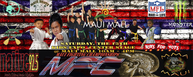 MMA Fighting Expo - Maui Hawaii