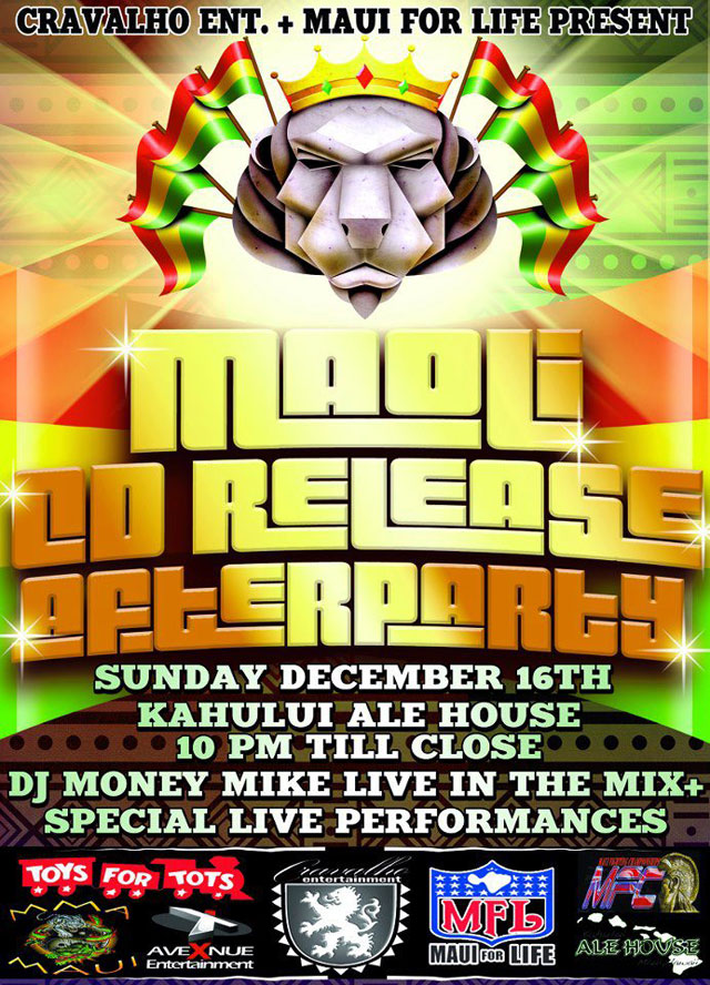 Maoli CD Release Party