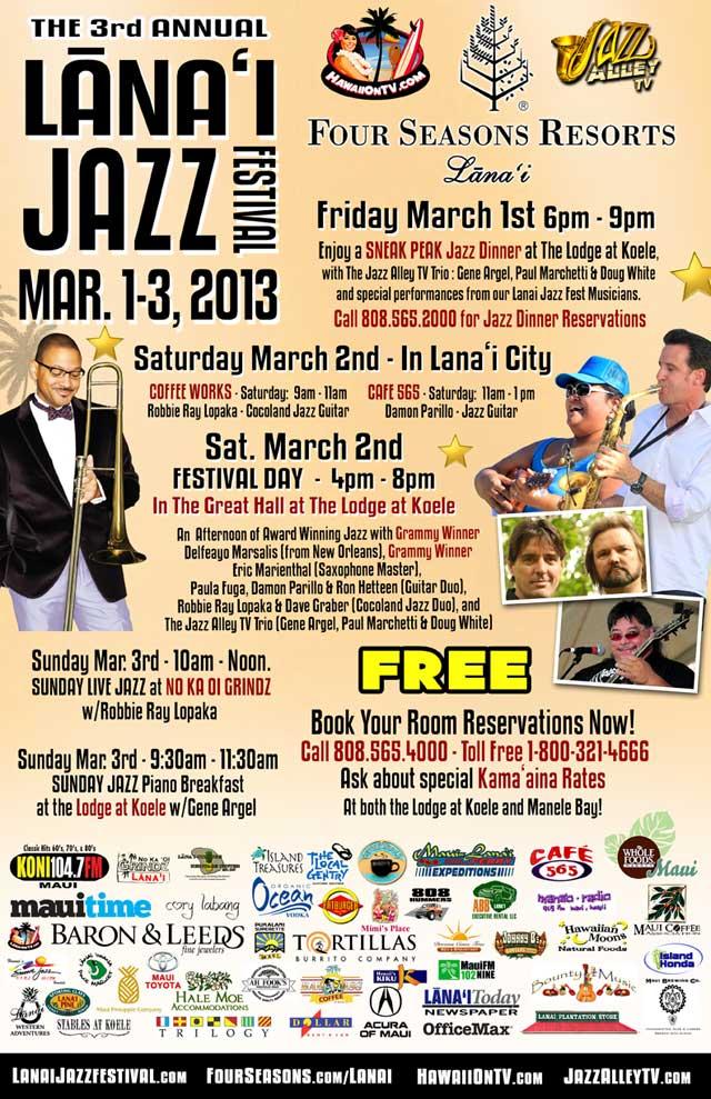 Lanai Jazz Festival 2013