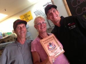 Maui Brick Oven 2013 Award