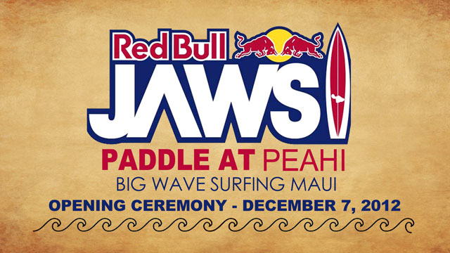 Red Bull Jaws Paddle at Peahi Party