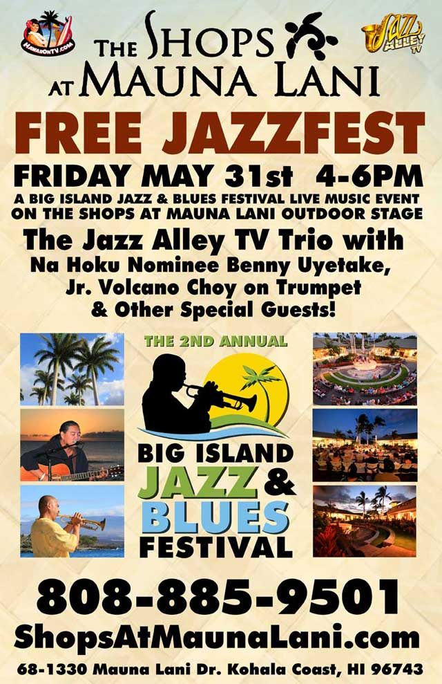 Live Jazz at The Shops at Mauna Lani