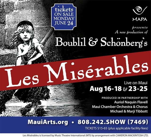 Les Miserables - Maui Hawaii