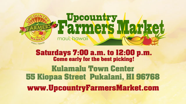 Upcountry Farmers Market Maui Hawaii