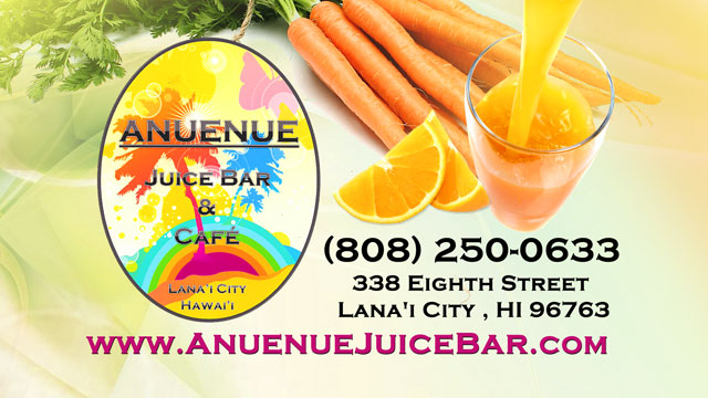 Anuenue Juice Bar and Cafe - Lanai City, Hawaii