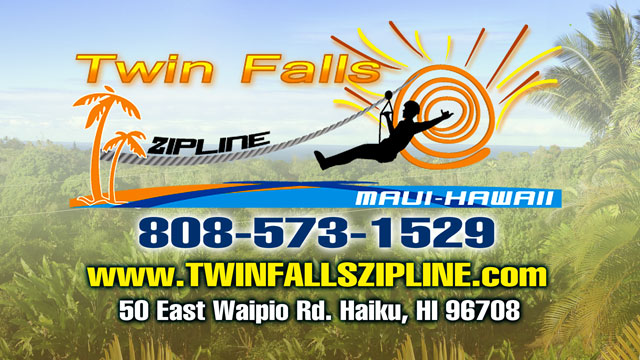 Twin Falls Zipline - Maui Hawaii