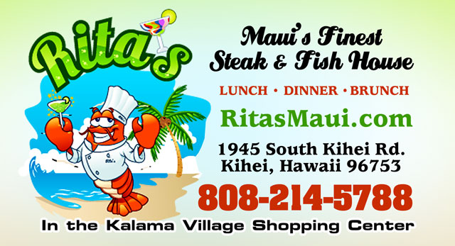 Rita's Steak & Fish House - Maui Hawaii