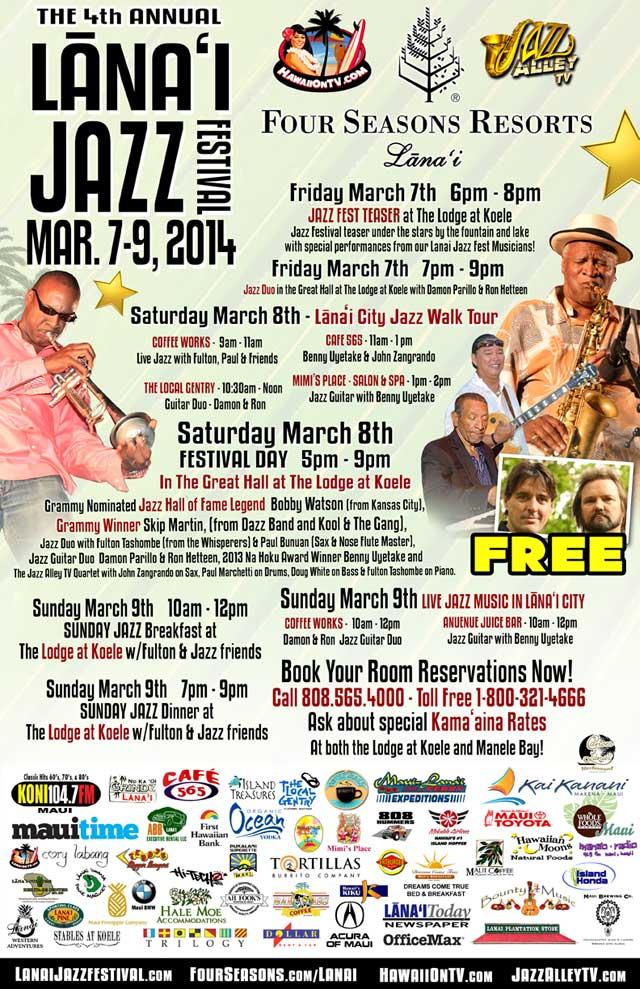 Lanai Jazz Fest 2014