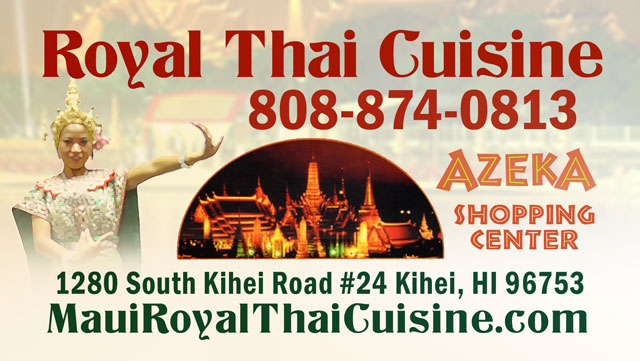 Royal Thai Cuisine - Maui Hawaii