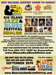 Big Island Jazz and Blues Festival 2014