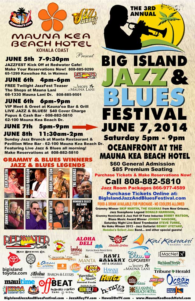 Big Island Jazz & Blues Festival 2014