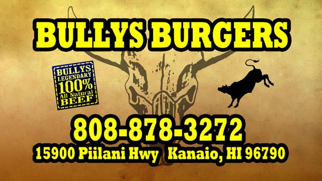 Bullys Burgers Maui