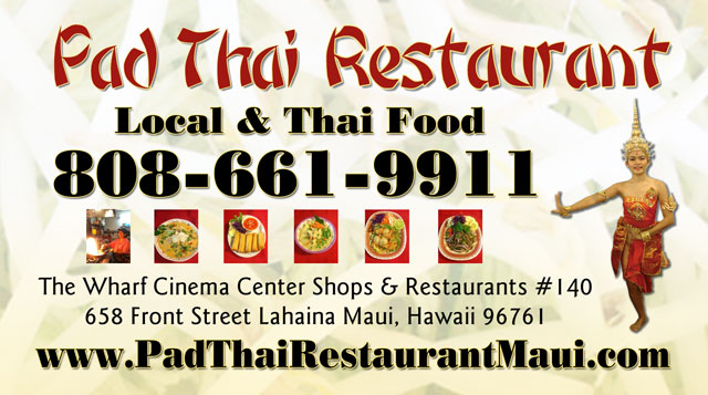 Pad Thai Restaurant - Maui Hawaii