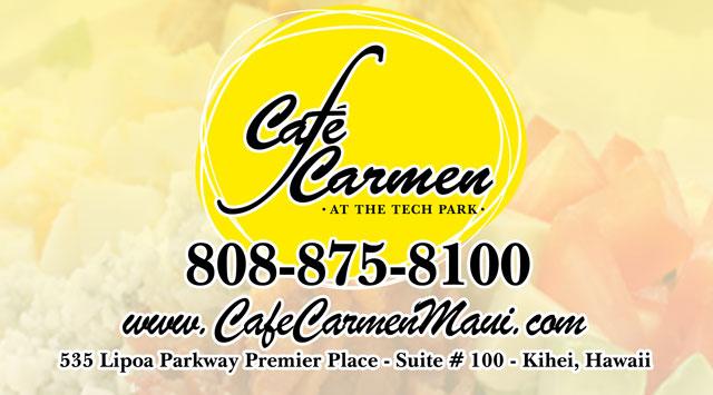Cafe Carmen Maui