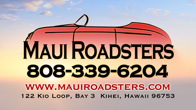 Maui Roadsters - Hawaii Sport Car Rentals