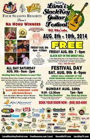 Lanai Slack Key Festival 2014
