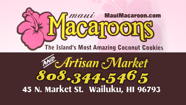 Maui Macaroons