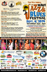 Maui Jazz and Blues Festival 2014