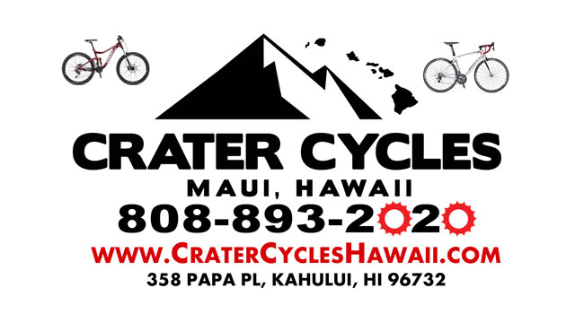 Crater Cycles Maui