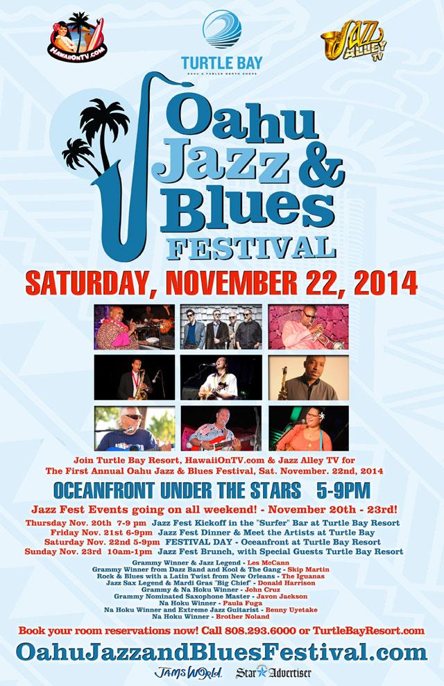 Oahu Jazz & Blues Festival